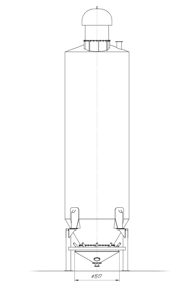 схема устройства выгрузки биг-бегов